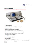973-SF6 Analyzer_Datasheet_V3.4
