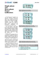 C200 data sheet