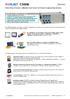 C300B-Three-Phase-Power-Calibrator-Data-Sheet-EN