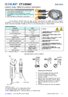 CT100AC-Current-Clamps-100A-Data-Sheet-EN