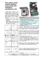 Calport100Plus data sheet